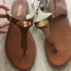 Gently worn Michael Kors sandals
